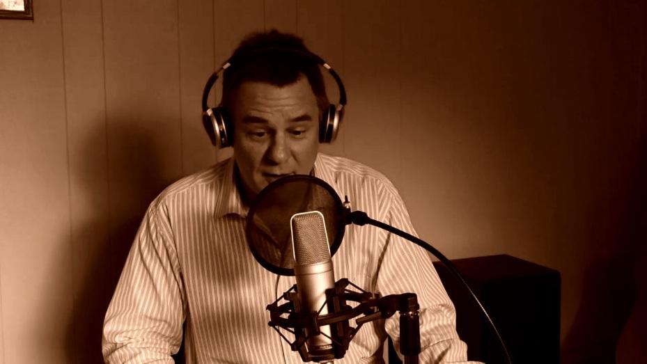 Image of Jim at microphone